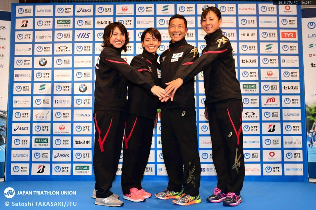 2016年5月19日 日本代表候補選手発表会見の様子