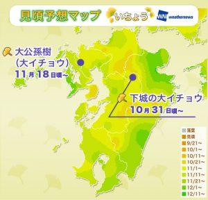 8_koyoMap_yellow_kyushu_SR